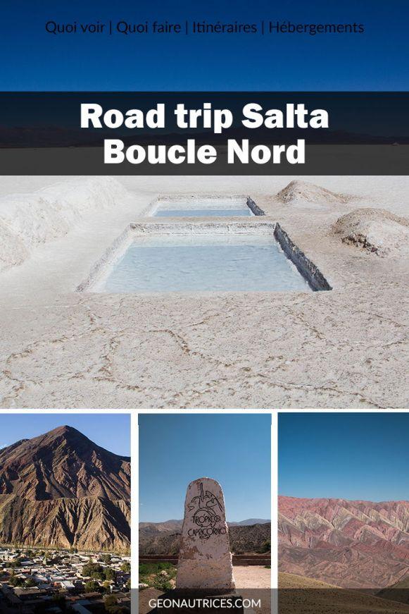 3 jours de road trip dans le nord de Salta, au nord ouest de l'Argentine. Nous partageons dans l'article notre itinéraire, nos conseils, ce qu'il faut voir, où dormir, comment s'y prendre. Salinas Grandes, Purmamarca, montagnes colorées, Humahuaca... #salta #argentine #noa #roadtrip #voyage