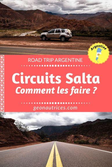 Comment visiter les alentours de Salta et ses merveilleux paysages ? Voici les différentes possibilités pour faire les circuits autour de Salta, boucles nord et sud. Location de voiture, agences, bus ? Faites votre choix. #salta #argentine #roadtrip #travel voyage