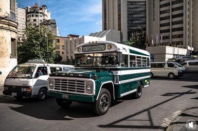 Bus Ford à La Paz