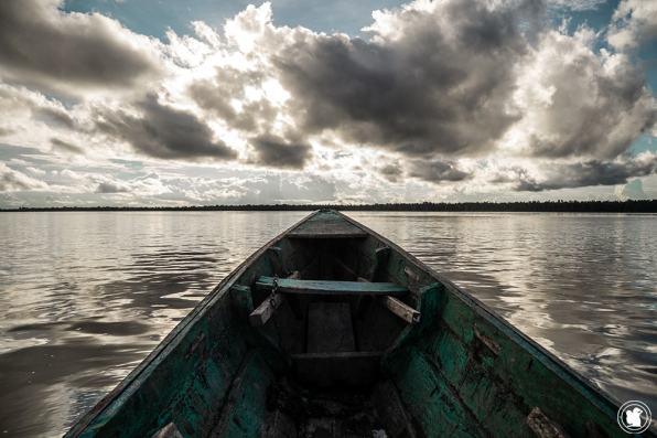 Naviguer en pirogue sur le fleuve Amazone
