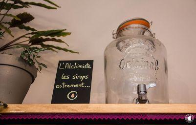 L'Alchimiste, siropier et bar à sirops à Chevreuse