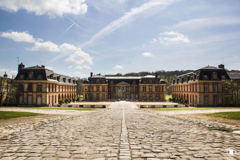 Le magnifique château de Dampierre