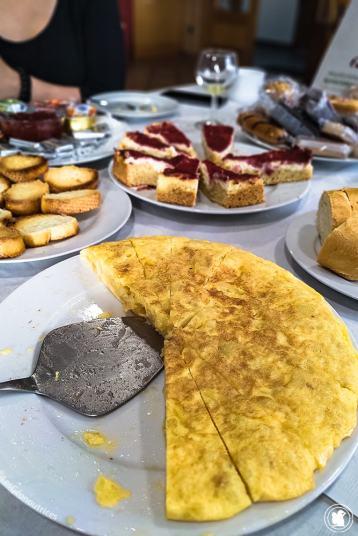 Petit-déjeuner au gîte Enbutegi - blogtrip Nekatur