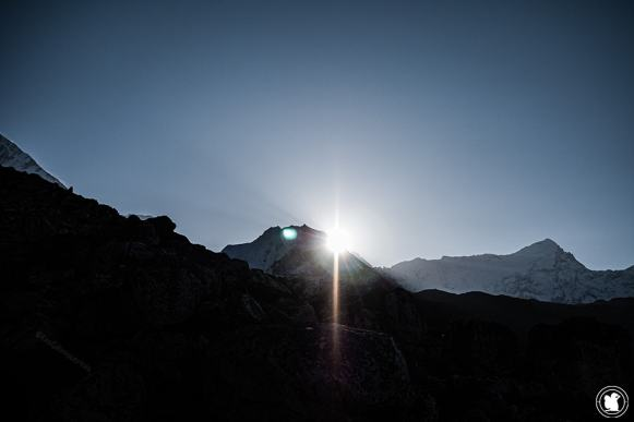 Trek des 3 cols - Lever de soleil