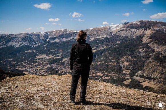 Trek Val d'Allos Enora observatrice