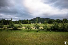 Un village basque depuis la cidrerie Oiharte - blogtrip Nekature