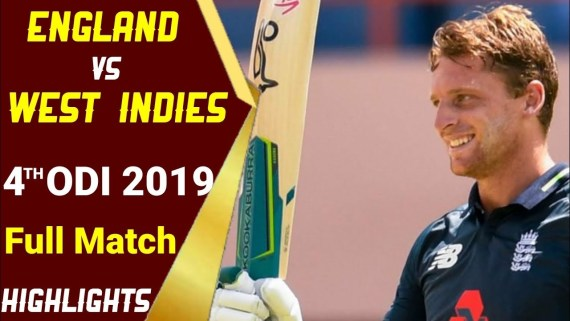 West Indies vs England 4th ODI Full Match Highlights WI vs ENG 4th ODI Highlights