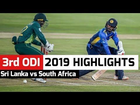 SL vs SA 3rd ODI 2019 Full Match Highlights | 10 March 2019