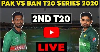 Pakistan vs Bangladesh T20 Live Match-Pak vs Ban 2nd T20 Live