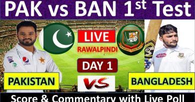Pakistan vs Bangladesh Live Streaming 1st Test Match-PAK vs BD Live