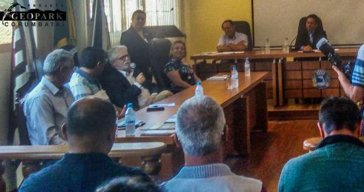 Fala do Prof. Dr. José Alexandre Perinotto, diretor do IGCE Unesp