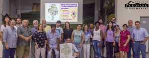 Público presente na Caravana Geopark Corumbataí em Ipeúna