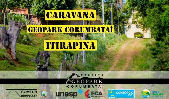 4ª Caravana do Geopark Corumbataí - Itirapina