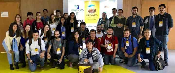 Equipe do Geopark Corumbataí participa de Congresso em São Paulo