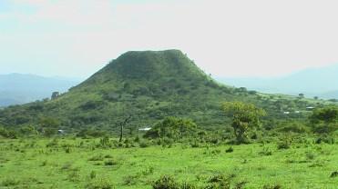 Cerro aplanado - Ojote