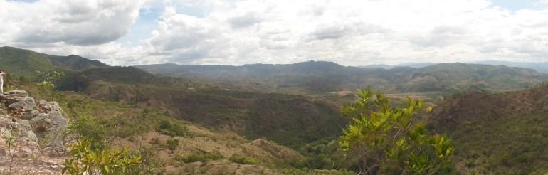 Panorámica Cañón seco