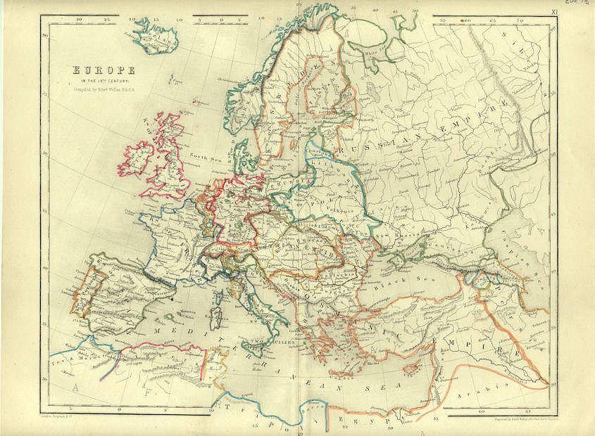 Europe 18th Century