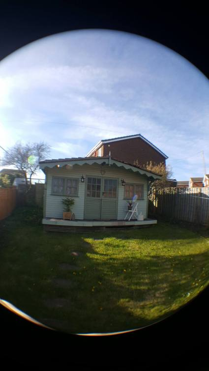 Rear Camera - The Garden Shed