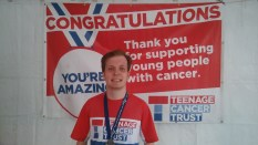 Stumbled across the Teenage Cancer Trust tent.. good times!