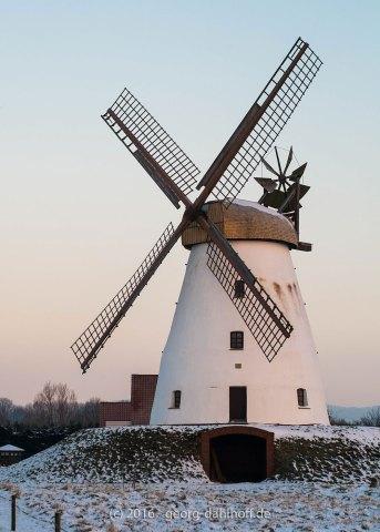 Die Veltheimer Mühle im Winter - Bild Nr. 201601223556