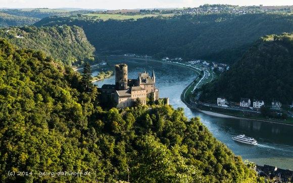Der Mittelrhein bei Sankt Goarshausen - Bild Nr. 201409271390
