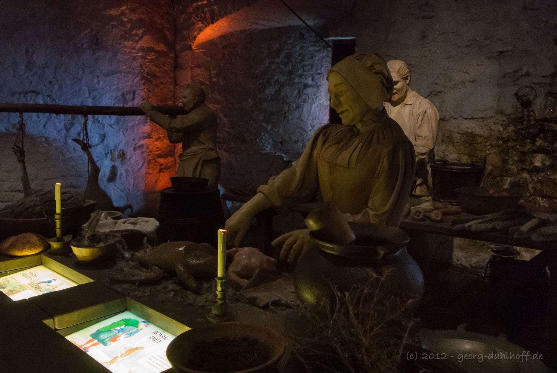 201206273926   Stirling Castle: Mittelalterliche Küche