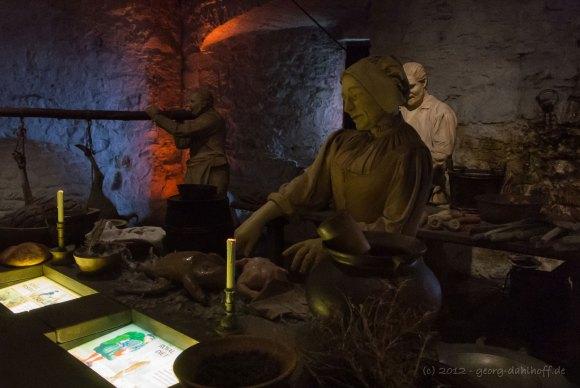 201206273926 - Stirling Castle: Mittelalterliche Küche