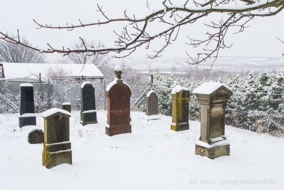Alter jüdischer Friedhof Mommenheim - Bild Nr. 201301210077