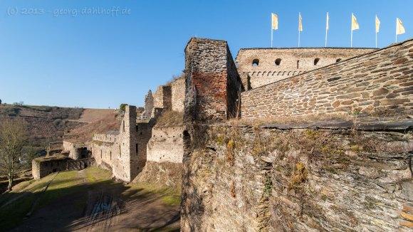 Burg Rheinfels bei St. Goar - Bild Nr. 201303028464