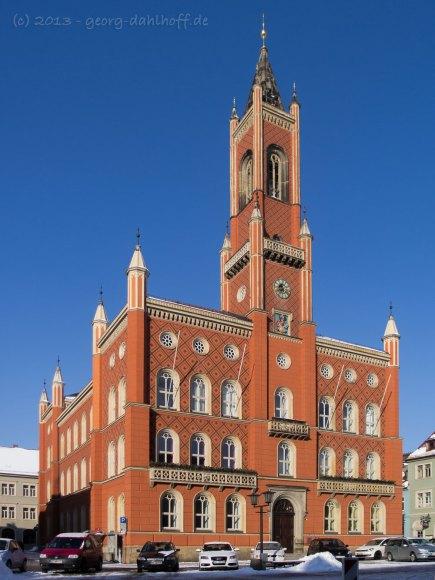 Rathaus von Kamenz - Bild Nr. 201303160712