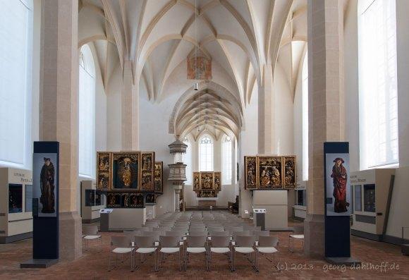 Innenraum und Ostchor von St. Annen - Bild Nr. 201305218887