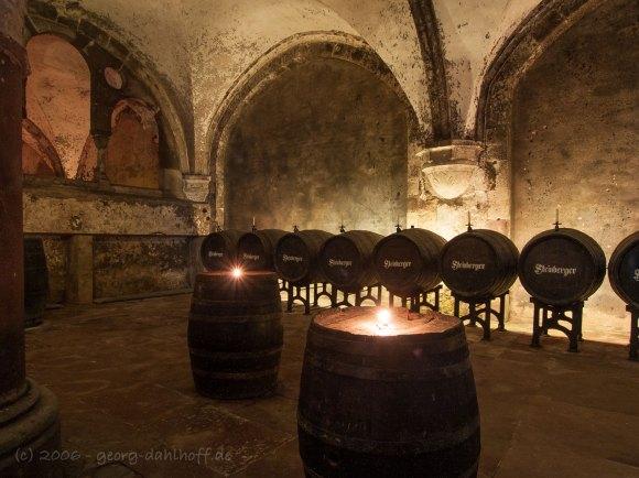 Kloster Eberbach: Weinkeller - Bild Nr. 200610218350