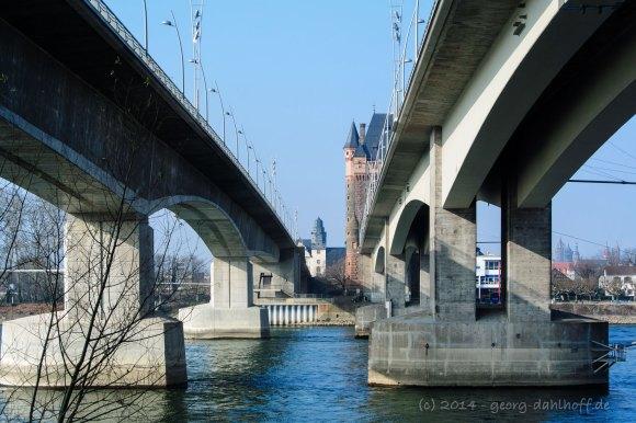 Die Wormser Nibelungenbrücke - Bild Nr. 201403082419