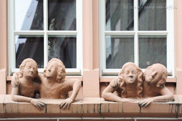 Fenstergucker der Mainzer Markthäuser - Bild Nr. 201404122811