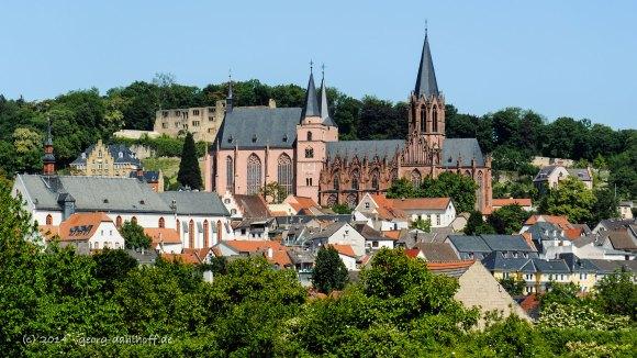 Altstadt Oppenheim (Südansicht) - Bild Nr. 201405162968