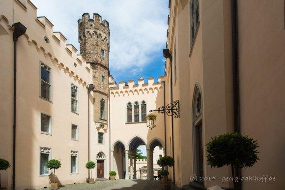Schloss Stolzenfels Innenhof - Bild Nr. 201405252984