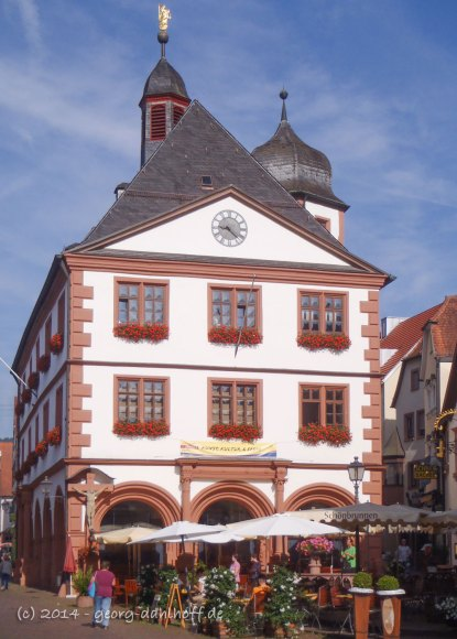 Lohr am Main: Altes Rathaus - Bild Nr. 201407150177