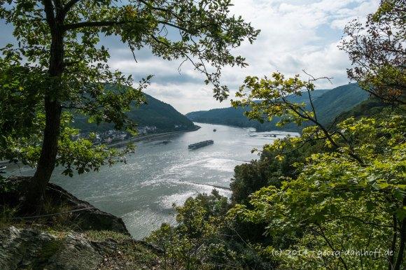Der Rhein zwischen Bingen und Trechtingshausen - Bild Nr. 201409271307