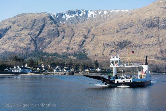 Fähre über Loch Linnhe - Bild Nr. 201503154408