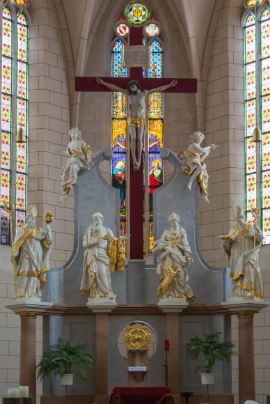 Hochaltar von St. Bartholomäus - Bild Nr. 201503284528
