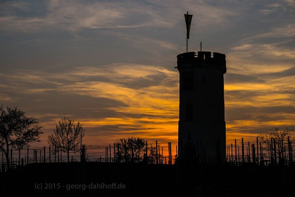 Sonnenuntergang am Wartturm - Bild Nr. 201504092017