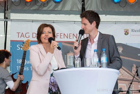 Ministerpräsidentin Malu Dreyer im Interview - Bild Nr. 201507184697