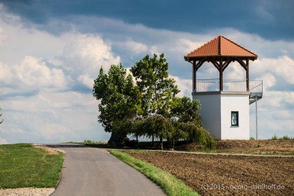 Weinbergsturm auf dem Lörzweiler Königsstuhl - Bild Nr. 201509032841