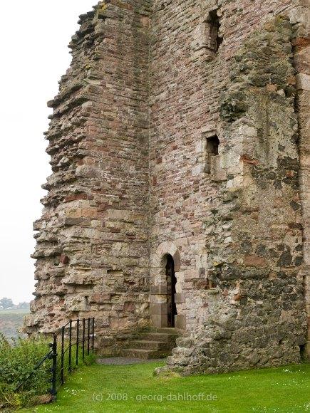 Der Ostturm von Tantallon Castle - Bild Nr. 200807262564