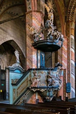 Kanzel, St.-Marien-Kirche - Bild Nr. 201509253231