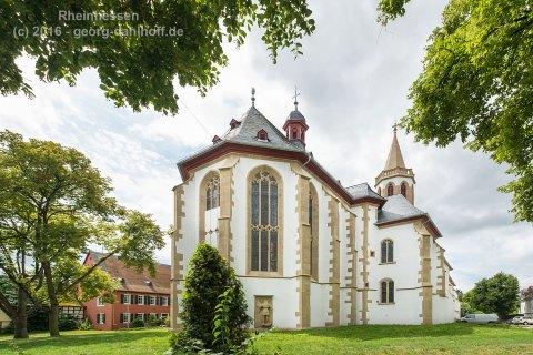 Simultankirche St. Rufus in Gau-Odernheim - Bild Nr. 201607304840