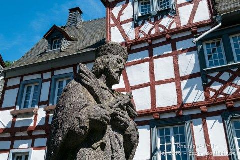 Monreal Heiligenfigur auf der Obertorbrücke - Bild Nr. 201608074937