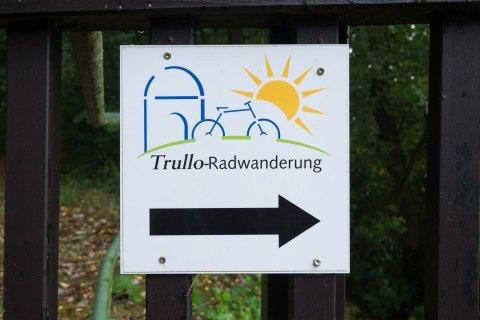 Wegmarkierung: Trullo Radwanderung - Bild Nr. 201608204986