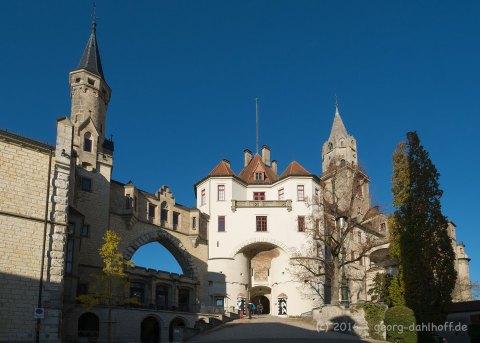 201610315515 - Schloss Sigmaringen: Der Eingang