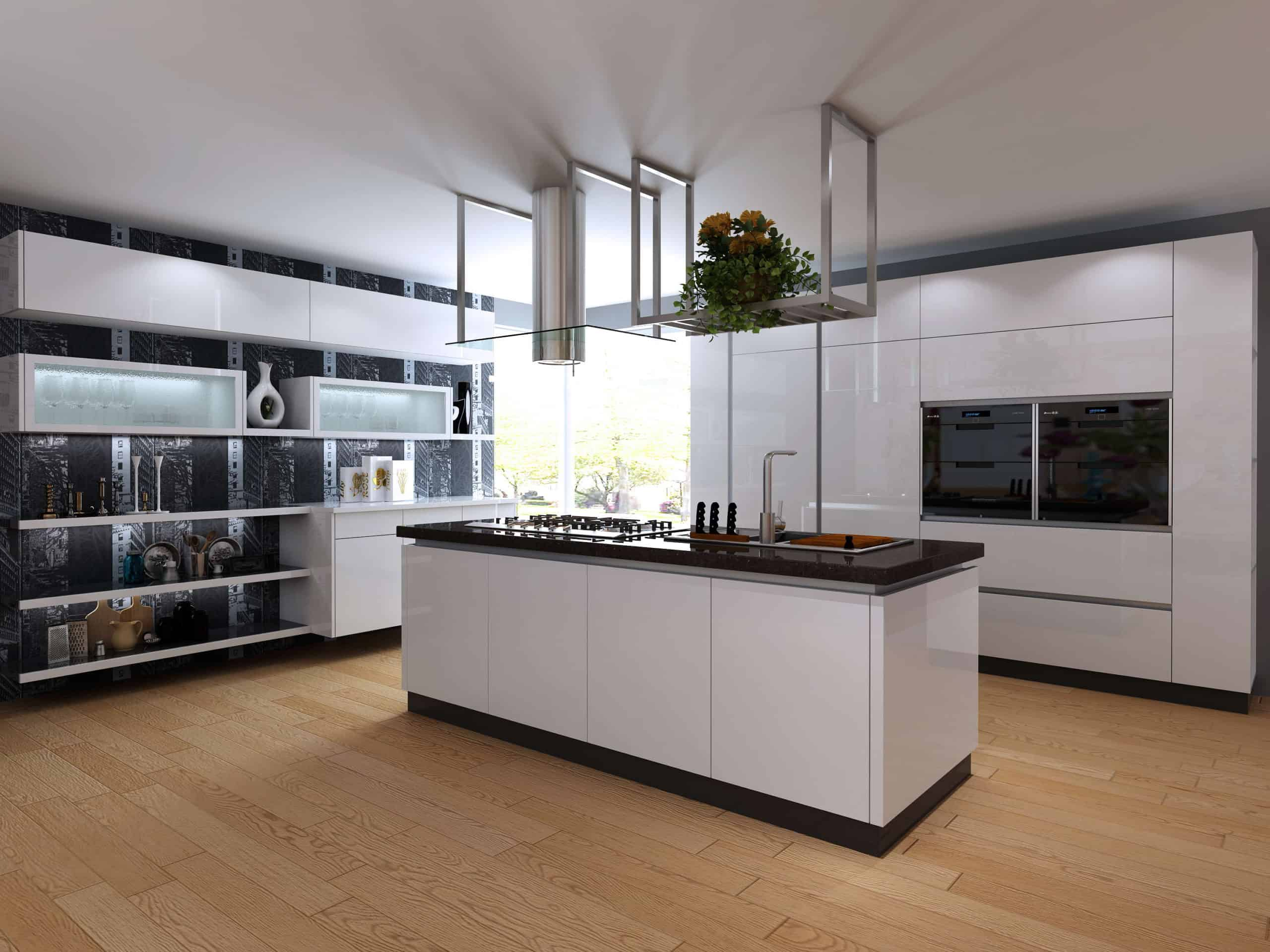 White Acrylic Kitchen Cabinets Pros Cons Best Prices